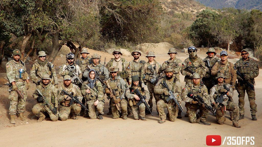 2nd Platoon, Task Force Viking. Olmué 2019